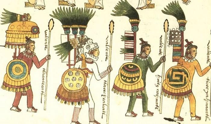 Ацтеки-мексиканцы.